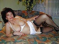 Horny Grannies In Stockings 27