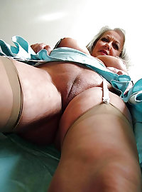 Horny Grannies In Stockings 27