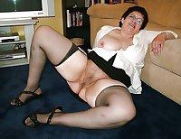 Horny Grannies In Stockings 25