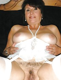 Horny Grannies In Stockings 25