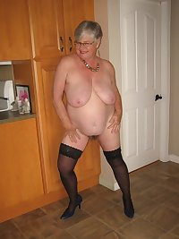 Girdlegoddess so hot and sexy in her black skirt and blouse. Taking it off to show you her hairy mature pussy...xxx
