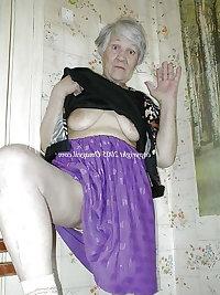 Horny wrinkled grandmas with nice big boobs