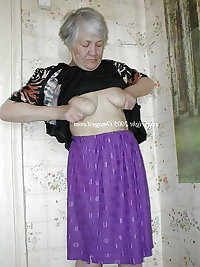 Horny wrinkled grandmas with nice big boobs