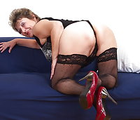 Horny Grannies In Stockings 46