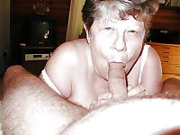 grannys sucking cock