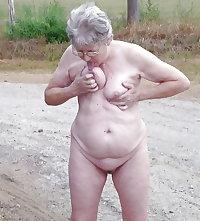 granny rijp hairy old