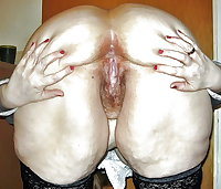Granny Pussy - Bent Over