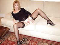 Granny , Mature...Nana's sexy STOCKINGS 2