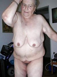 Grandma horny and fat - Oma geil und fett - 175