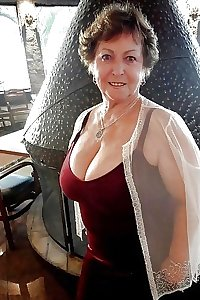 Busty Grannies Clothed