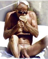 Grandpa nudist