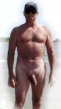 Grandpa nudist