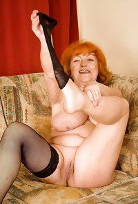 Granny Eve from OlderWomanFun