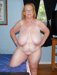 Sexy BBW gran