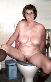 MY GRANNY AUNT IN TOILET