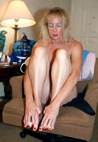 Mature with large labia