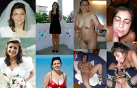Exposed Slut Wives - Before and After 228