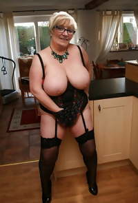 Granny & Mature stockings