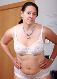 Granny & Mature bra and panties