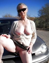 This granny blonde hussy loves fucking
