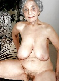 This horny granny slut gets nasty with herself