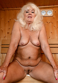 This horny granny slut only wants her cocks to be black