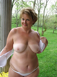 This big titted granny slut loves the cock