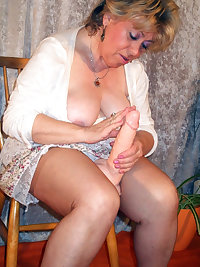 This horny granny bitch loves it hard and long