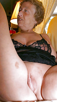 This granny chubby needs cocks for breakfast
