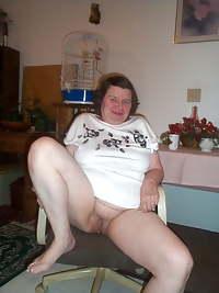 older mature hairy granny