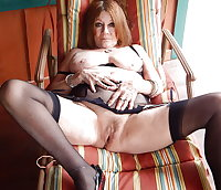 Horny Grannies In Stockings 34