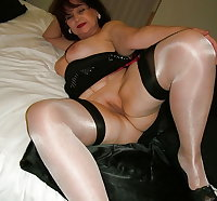 Horny Grannies In Stockings 34