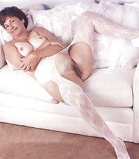Horny Grannies In Stockings 28