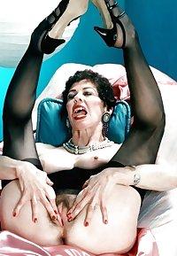 Horny Grannies In Stockings 22