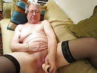 Granny aged 70 with hairy pussy
