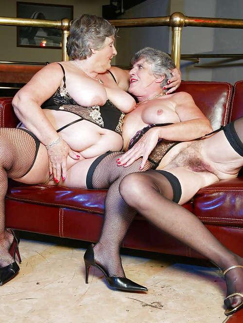 Sexy Granny Cockold Sexorgie